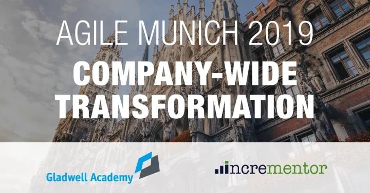 Agile Munich 2019 Agenda