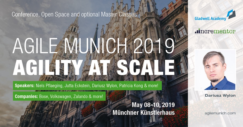 We Are Going To Agile Munich 2019