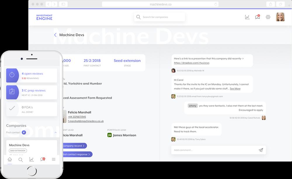 Accelerated Digital Ventures - screen
